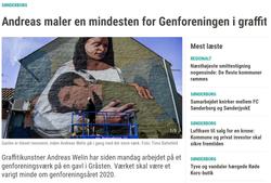 Jyske Vestkysten, Genforeningen i Gråsten 2020