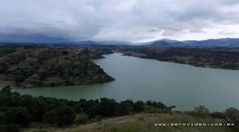San Luis Anáhuac, Villa del Carbón, desde el aire