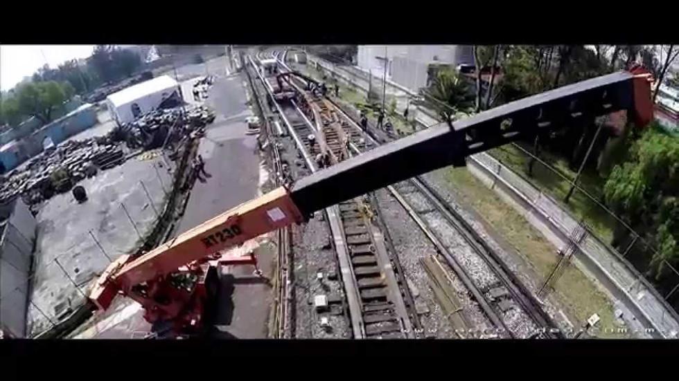 Trabajos preventivos del Metro en CDMX