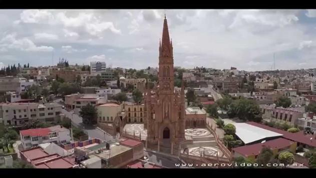 Zacatecas desde un drone