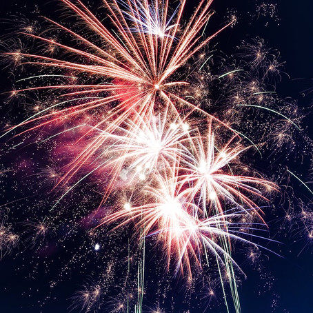 Fireworks and faith - Finding beauty in the differences and letting our light shine.