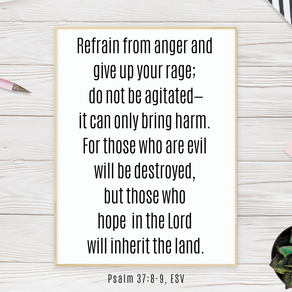 Fighting Anger by Shifting My Focus to the Hope of Eternity with God