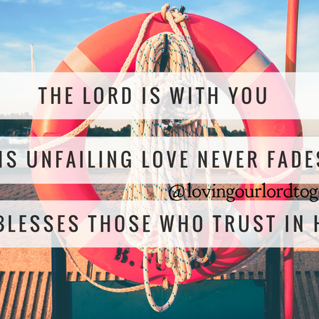 When the waters of worry threaten to drown you, cling to these Bible verses.