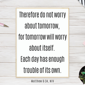 Fighting Worry By Seeking God First
