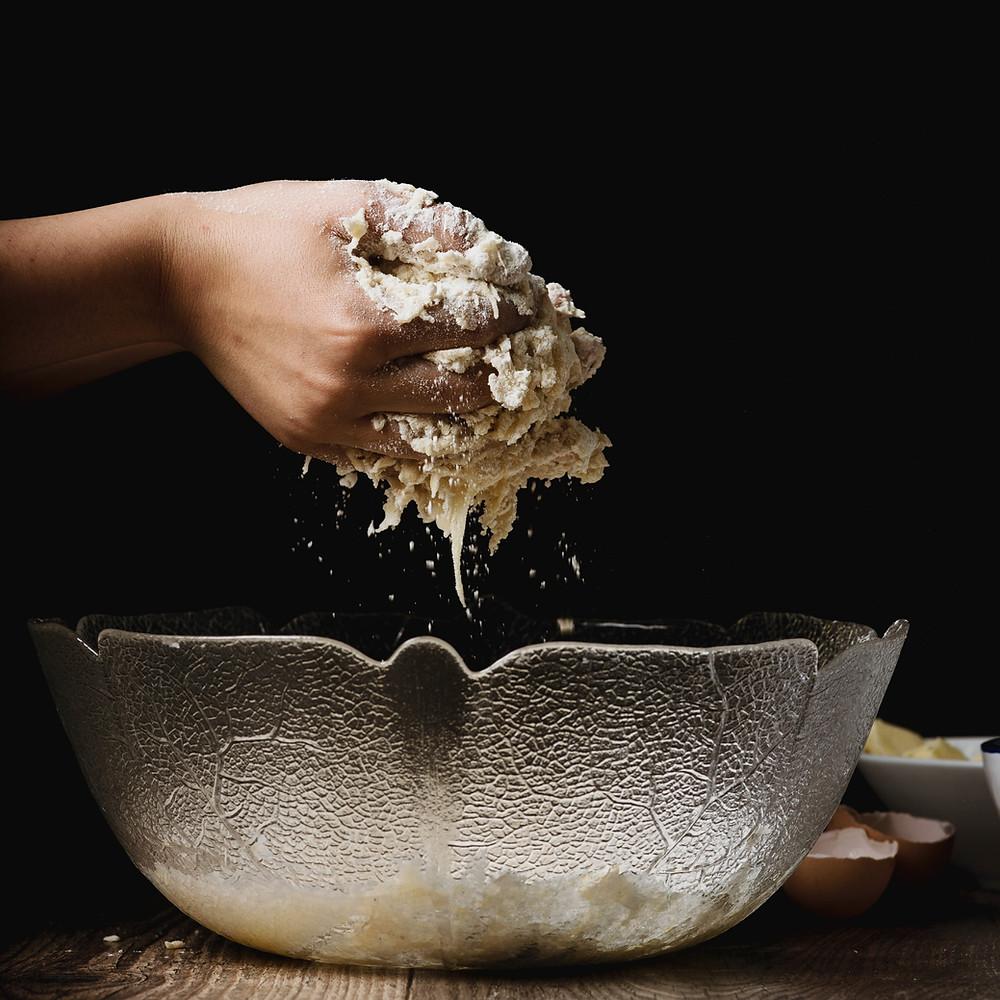 O começo de tudo é o processamento de alimentos