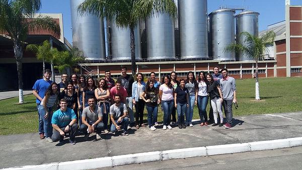LEMA na fábrica da Brasil Kirin