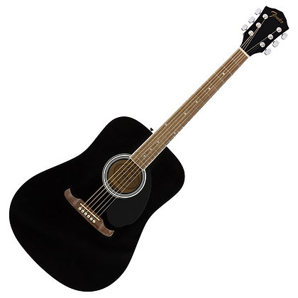 Fender FA-125 Dreadnought WN, Black