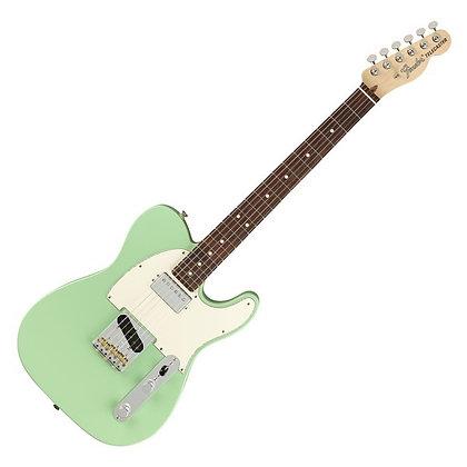 Fender American Performer Telecaster HS RW, Satin Surf Green