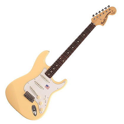 Fender Yngwie Malmsteen Stratocaster RW, Vintage White