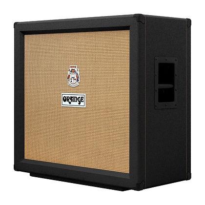 """Orange PPC412 Black - 4x12"""" Speaker Cab"""