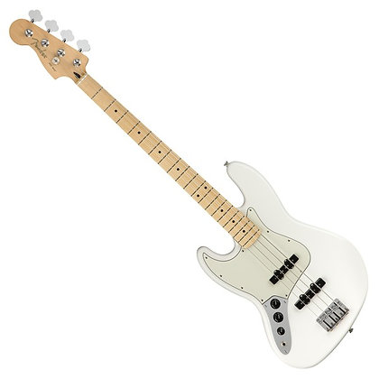 Fender Player Jazz Bass MN Left Handed, Polar White