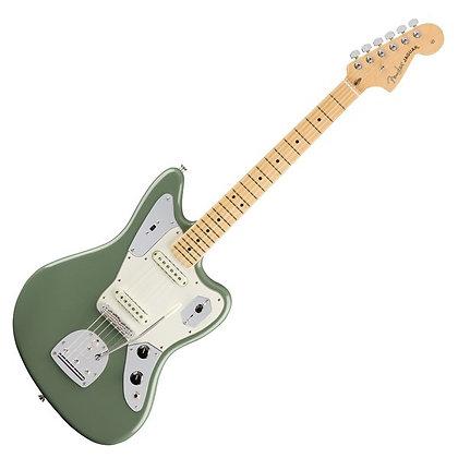 Fender American Professional Jaguar MN, Antique Olive