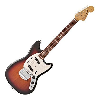 Fender Vintera '60s Mustang PF, 3-Tone Sunburst
