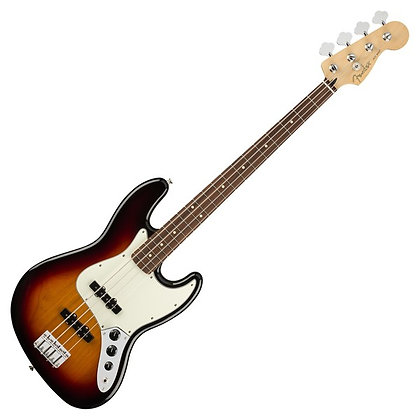 Fender Player Jazz Bass PF, 3-Tone Sunburst