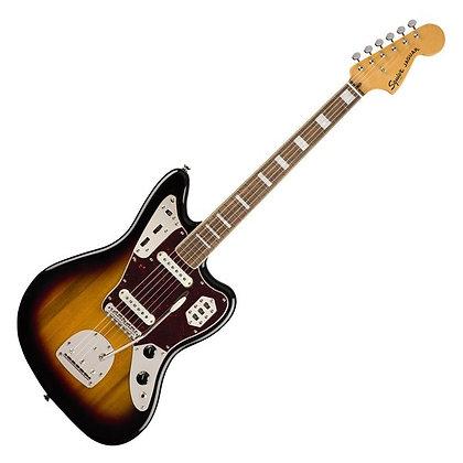 Fender Squier Classic Vibe '70s Jaguar LRL, 3-Tone Sunburst