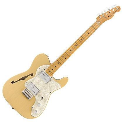 Fender Vintera '70s Telecaster Thinline, Vintage Blonde