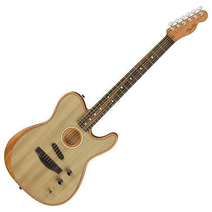 Fender American Acoustasonic Telecaster, Sonic Gray