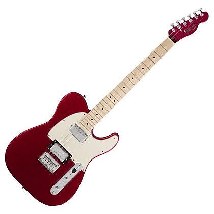 Fender Squier Contemporary Telecaster HH MN, Dark Metallic Red