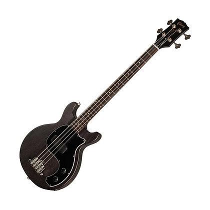 Gibson Les Paul Junior Tribute DC Bass, Worn Ebony
