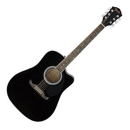 Fender FA-125CE Dreadnought WN, Black
