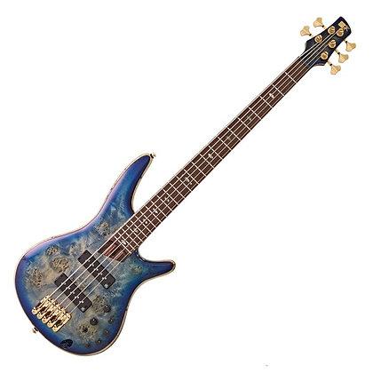 Ibanez SR2605 Premium 5-String, Cerulean Blue Burst