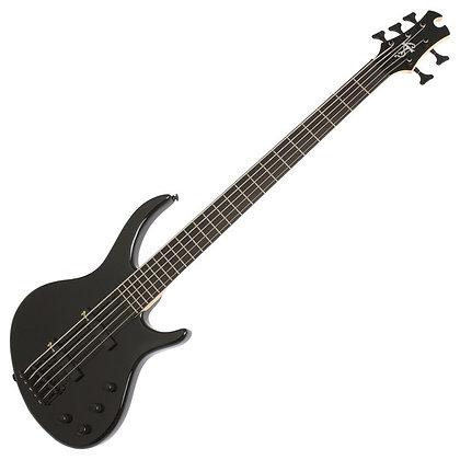 Epiphone Toby Deluxe V Bass, Ebony