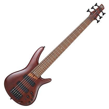 Ibanez SR506E 6-String, Brown Mahogany