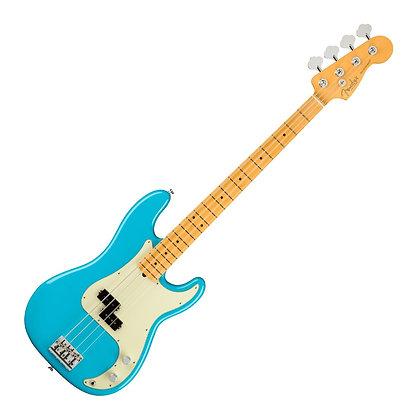 Fender American Pro II Precision Bass MN, Miami Blue