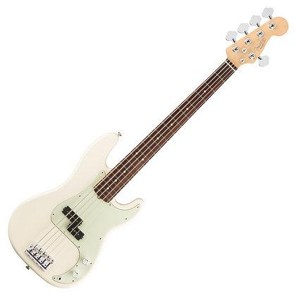 Fender American Professional Precision V Bass RW, Olympic White