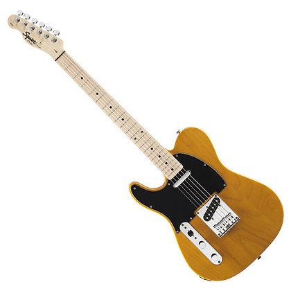 Fender Squier Affinity Telecaster Left Handed, Butterscotch Blonde