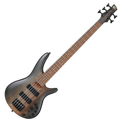 Ibanez SR505E 5-String, Surreal Black Dual Fade