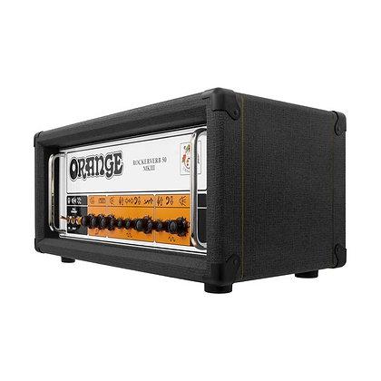 Orange Rockerverb 50H MKIII Black - 50W Tube Amp Head