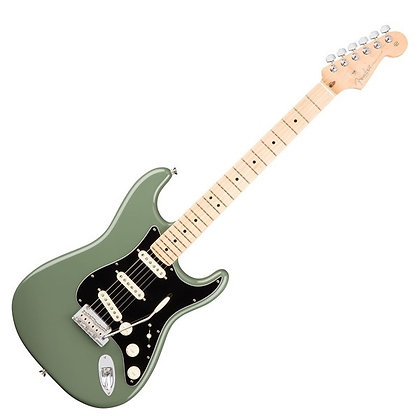 Fender American Professional Stratocaster MN, Antique Olive