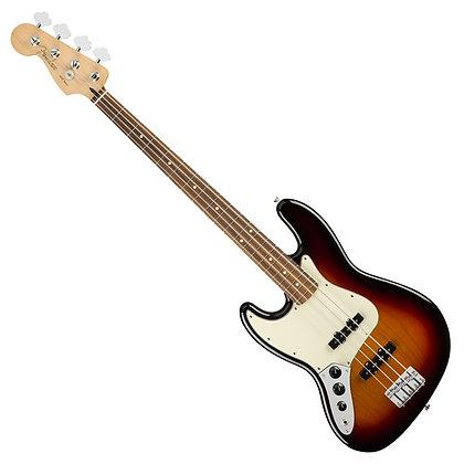 Fender Player Jazz Bass PF Left Handed, 3-Tone Sunburst