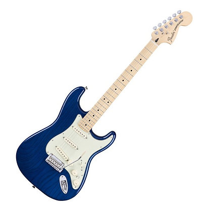 Fender Deluxe Stratocaster MN, Sapphire Blue Transparent
