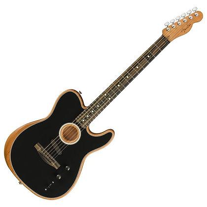 Fender American Acoustasonic Telecaster, Black