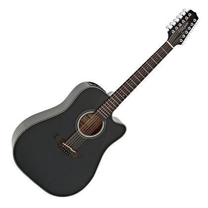 Takamine GD30CE 12 String, Black