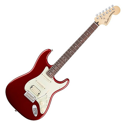 Fender Deluxe Stratocaster HSS PF, Candy Apple Red