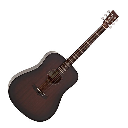 Tanglewood TWCR D Crossroads Dreadnought, Whiskey Burst