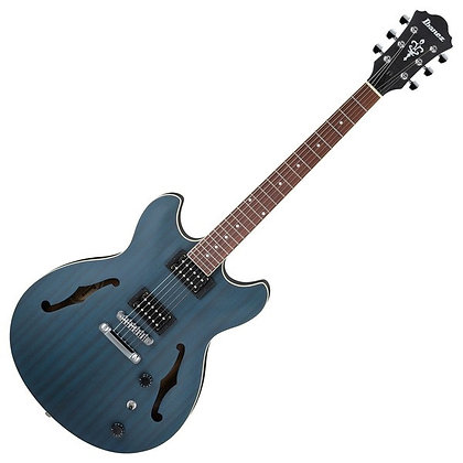 Ibanez AS53, Transparent Blue Flat