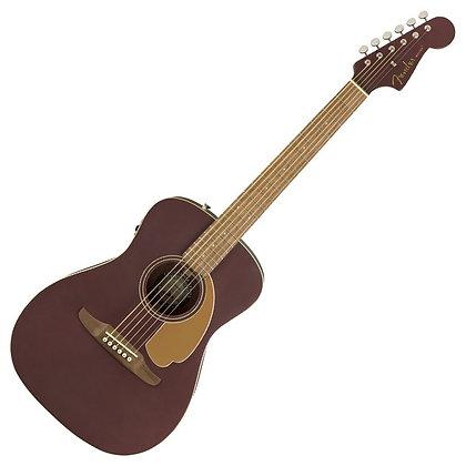 Fender Malibu Player, Burgundy Satin