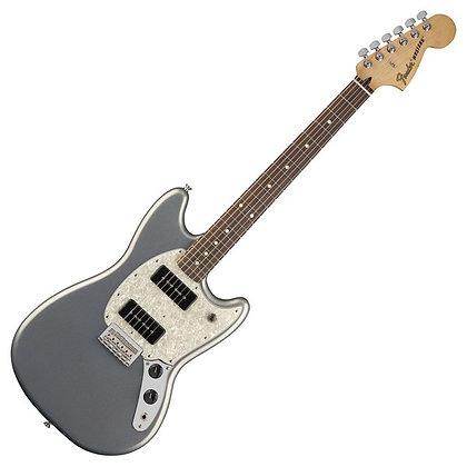 Fender Mustang 90 PF, Silver