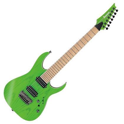 Ibanez RGR5227MFX 7-String, Transparent Fluorescent Green