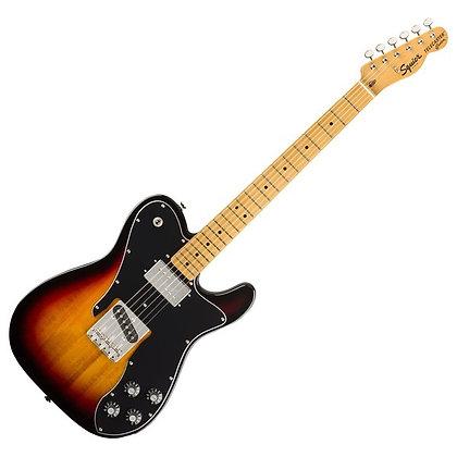 Fender Squier Classic Vibe '70s Telecaster Custom MN, 3-Tone Sunburst