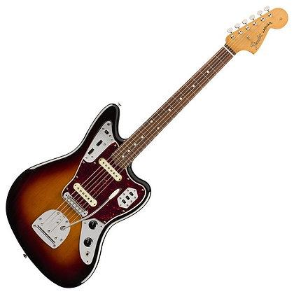 Fender Vintera '60s Jaguar PF, 3-Tone Sunburst