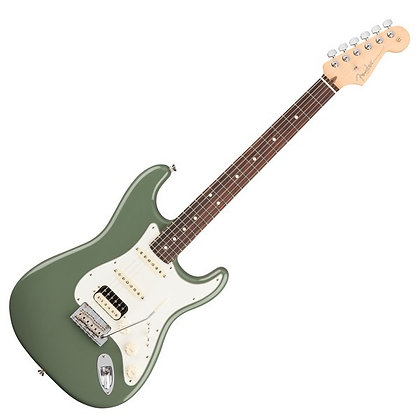 Fender American Professional Stratocaster HSS RW, Antique Olive