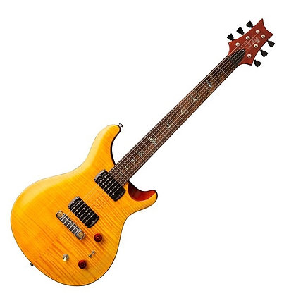 PRS SE Paul's Guitar, Amber Tobacco Black