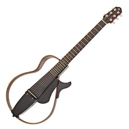 Yamaha SLG200S Steel String Silent Guitar, Translucent Black