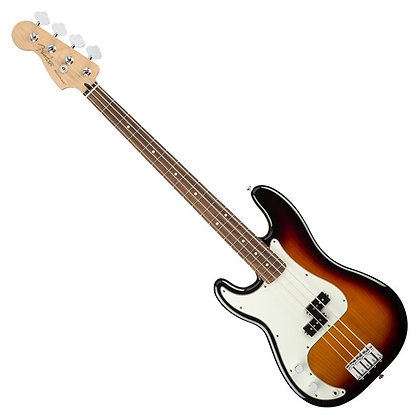 Fender Player Precision Bass PF Left Handed, 3-Tone Sunburst