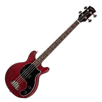 Gibson Les Paul Junior Tribute DC Bass, Worn Cherry